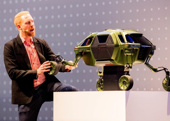 Robots, poop sensors and a dog food cannon: The bold new tech of CES 2019