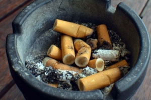 Smokers urged to quit, cut fire threat