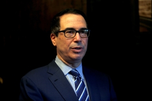 Treasury's Mnuchin defends U.S. decision to lift sanctions on Russian firms