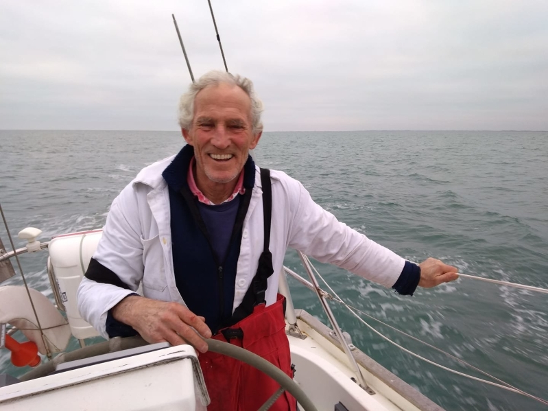 British yachtsman, 67, who went missing for six days at sea on his way from France to Cornwall says he is 'safe and well'