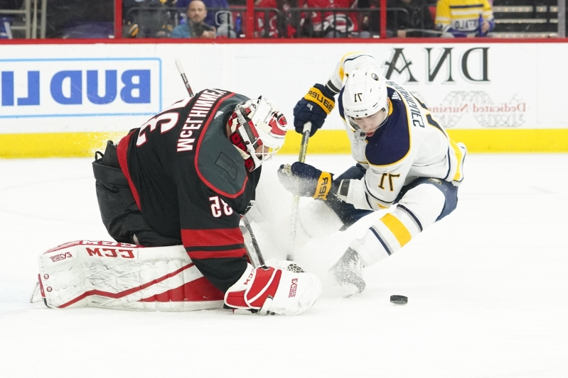 Hurricanes hold off Sabres in Skinner's return to PNC Arena