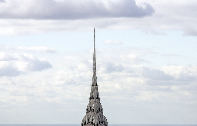 New York City's iconic Chrysler Building is up for sale