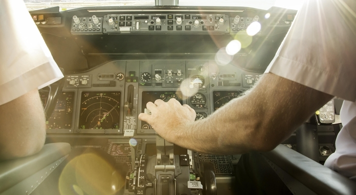 Pilot Suspended for Allowing Wife in Cockpit