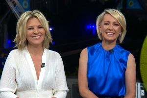 Georgie Gardner and Deb Knight's first moments as TODAY's new co-hosts: 'Partners in crime'
