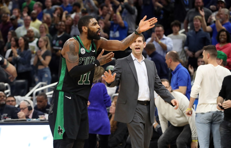 Kyrie Irving confronts Gordon Hayward over final shot in loss