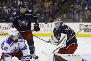 Foligno leads scoring flurry, Blue Jackets beat Rangers 7-5