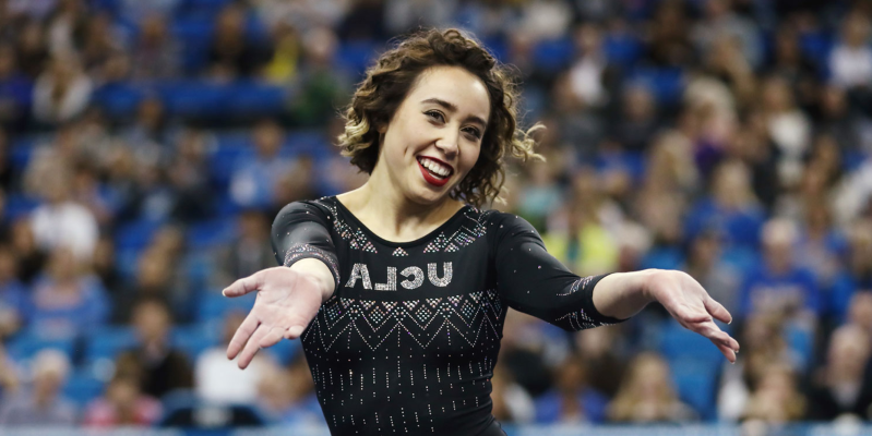 Sport Ucla Gymnast Katelyn Ohashi Stunned Judges And