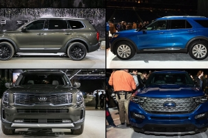 Auto Showdown: 2020 Ford Explorer vs. 2020 Kia Telluride