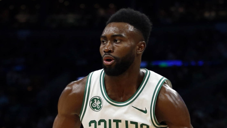 77ac4ef1123 Sport  Jaylen Brown not happy with Kyrie Irving over comments ...