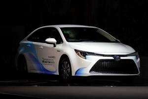 New Toyota Corolla starts rolling off the line in Britain