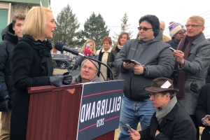 Now a 2020 candidate, Gillibrand builds campaign on gender