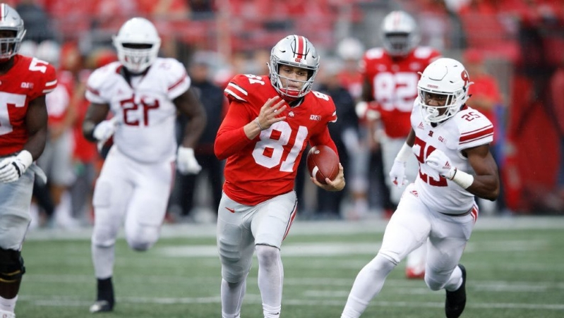 1e0ef1555 Sport  Transferring Ohio State QB Tate Martell tweets moves to Miami ...