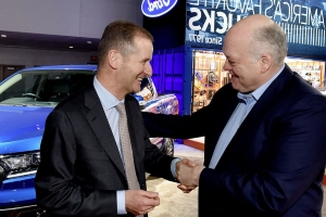Why new Ford and Volkswagen alliance is 'unusual'