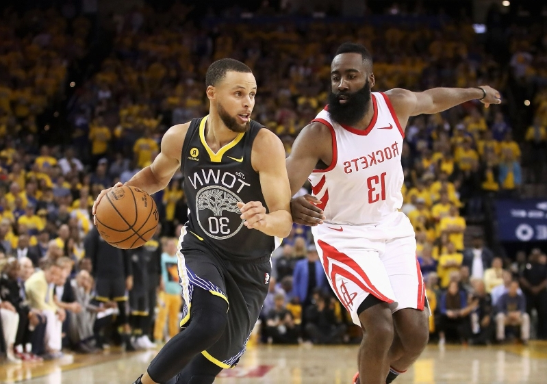 new style 18e91 73a65 MVP Race  As James Harden makes history, Steph Curry turns back clock