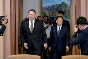 Pompeo's North Korea counterpart arrives in Beijing: South Korea's Yonhap