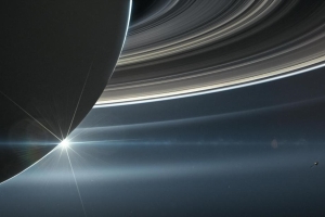Saturn's rings haven't always been there