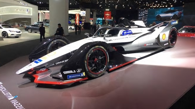 Auto Shows The Race Cars Of The 2019 Detroit Auto Show Pressfrom Us