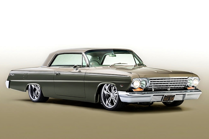 Clics: This Owner-Built 1962 Chevrolet Impala Custom is an ... on mustang wiring harness, kwik wire wiring harness, msd ignition wiring harness, classic car wiring harness, ididit wiring harness, bully dog wiring harness, vintage air wiring harness, battery tender wiring harness, custom autosound wiring harness, piaa wiring harness,