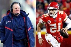Patrick Mahomes gets another crack at defensive mastermind Bill Belichick