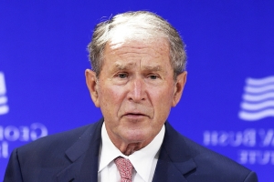 Bush calls on Trump, Democrats to 'put politics aside' and end the shutdown