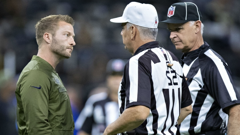 c612a7eda07008 NFL playoffs 2019: Rams fans petition to get referee removed from NFC  championship game