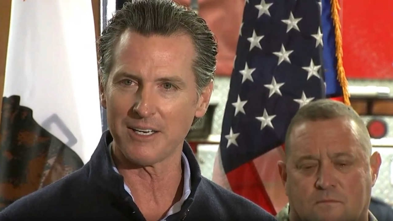 Us Gov Gavin Newsom And Family To Pass On The Governor S Mansion