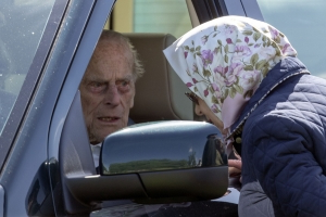 Prince Philip reaches out to family injured in car crash