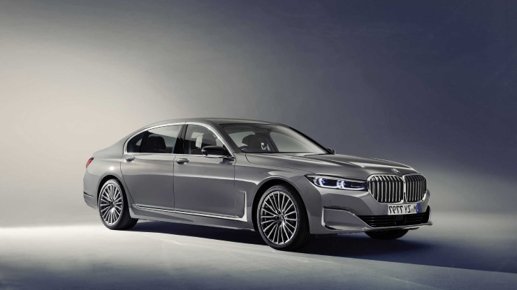 Cars 2020 Bmw 7 Series Facelift Revealed With Bold Grille New V8