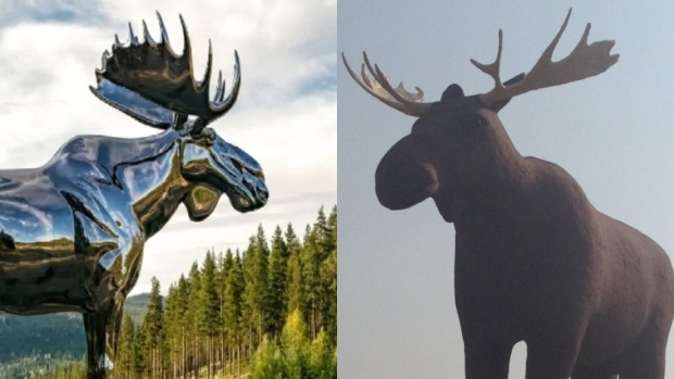 Canada: Mac the Moose looks to reclaim world's largest moose title