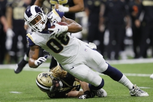 Sean McVay explains why Todd Gurley's role was limited vs. Saints