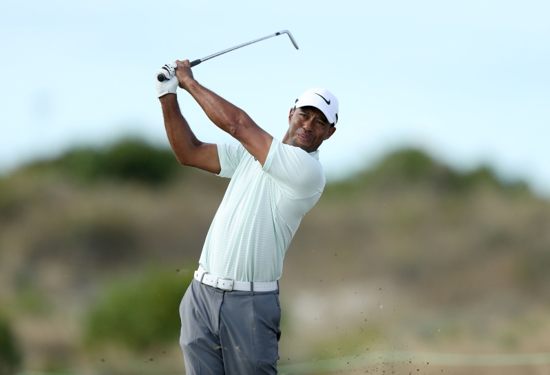 9c945e934347b Tiger Woods paired with Xander Schauffele and Tony Finau at Torrey Pines