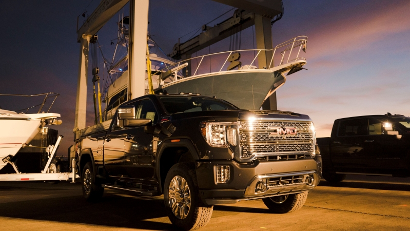 News New 2020 Gmc Sierra Hd Has More Tech More Power And