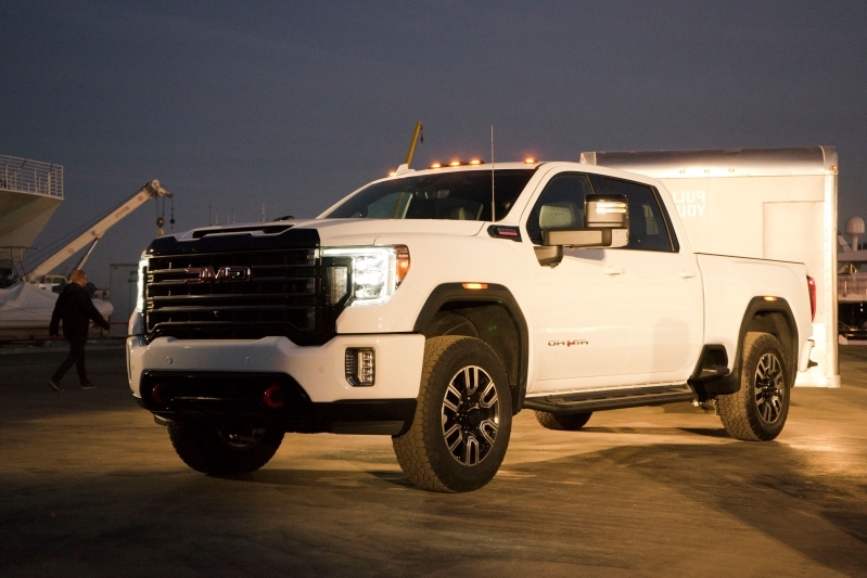 News New 2020 Gmc Sierra Hd Has More Tech More Power And X Ray