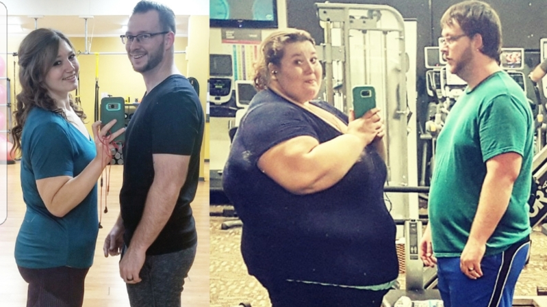 Health & Fit: This couple lost 407 pounds — and has kept the