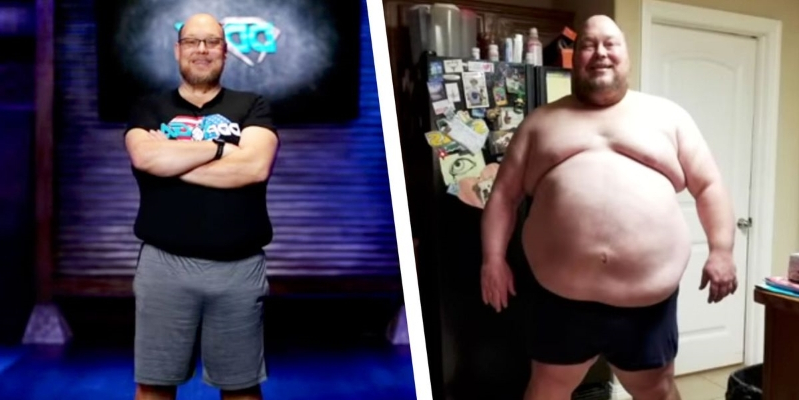 2efb6a78be Meet the Man Whose 200-Pound Weight Loss Transformation Went Viral