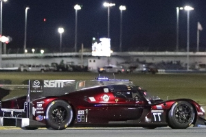 A fiery ending for the pole-sitter of the Rolex 24 Hours at Daytona