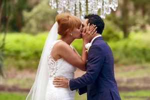 Is this the most perfect MAFS match ever? Married At First Sight's Jules Robinson and Cam Merchant fall in LOVE at the altar and seem destined to be together during fairy-tale wedding