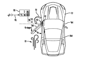 C8 Chevrolet Corvette Might Have Power-Opening Doors, Patent Filing Shows