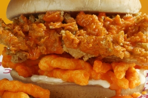 KFC Is Testing Out A New Cheetos Sandwich And It's Everything We Didn't Know We Needed