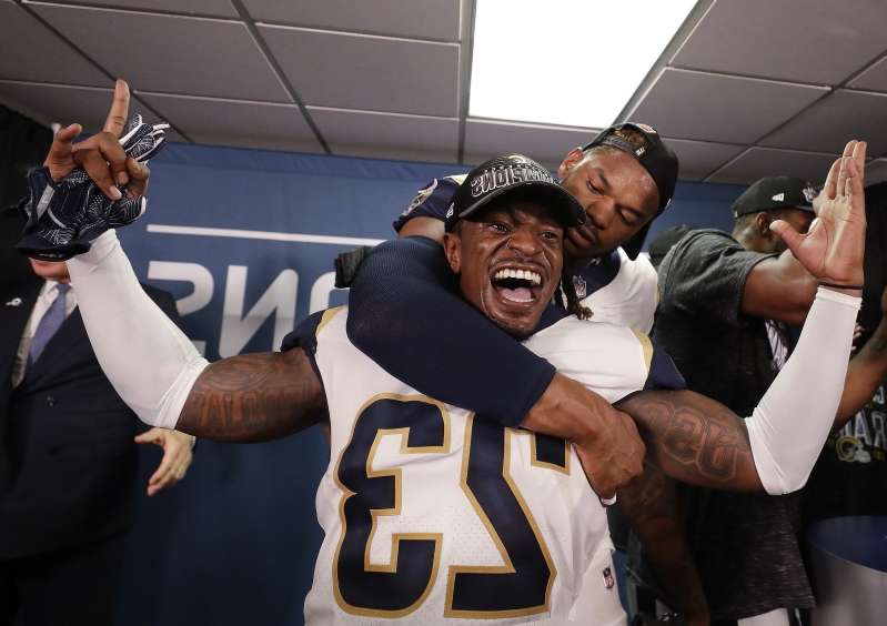 Sport: Rams CB Nickell Robey-Coleman explains 'out of