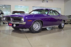 This restored 1970 Plymouth 'Cuda barn find is $250k