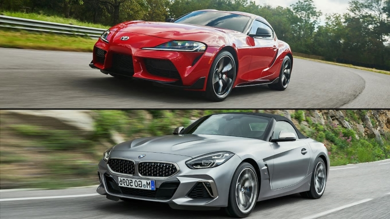 Reviews Behind The Wheel 2020 Toyota Supra Vs 2020 Bmw Z4