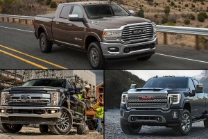 Specs Check: 2019 Ram HD vs. 2020 GMC Sierra HD vs. 2019 Ford Super Duty