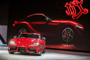 Detroit auto show blunder, a 'totally lit' Toyota and the most powerful Mustang ever