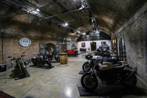 Inside The Bike Shed Motorcycle Club