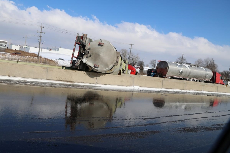 Canada: Montreal truck driver charged in rollover collision