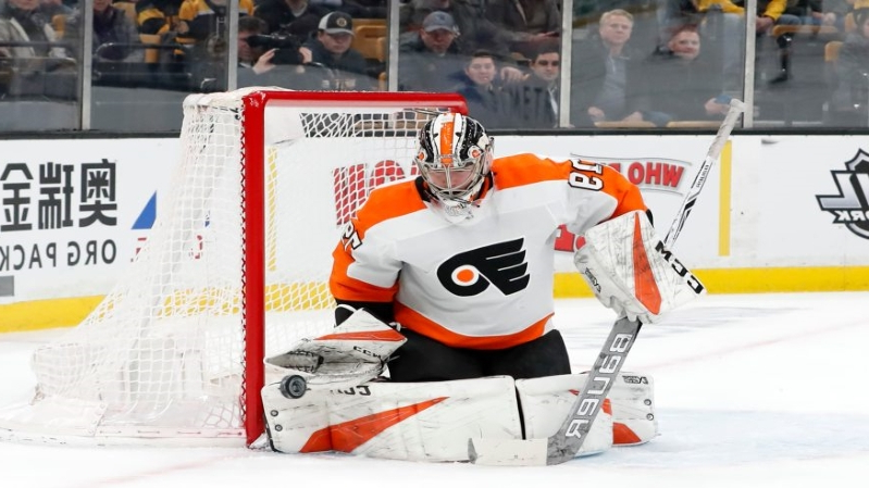b408c0b83 Sport  Flyers playing with confidence in front of rookie goalie Hart ...