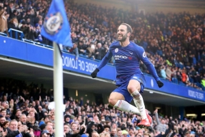 Higuain, Hazard and Chelsea just too much for Huddersfield