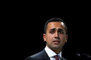 Italy's Di Maio says high speed rail link to France 'has no future'