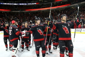 Burke rips Canes' post-win celebration again: 'It's bush league and I hate it'
